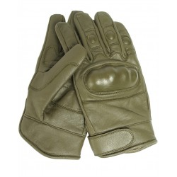Перчатки TACTICAL LEATHER 12504101 Olive | Mil-Tec