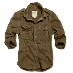 Рубашка 1/1 Raw Vintage Shirt Brown | Surplus