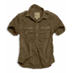Рубашка 1/2 Raw Vintage Shirt Brown | Surplus