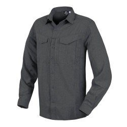 Рубашка Defender Mk2 Gentleman Shirt Black / Gray Melange | Helikon-Tex