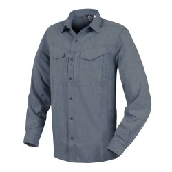 Рубашка Defender Mk2 Gentleman Shirt Melange Blue | Helikon-Tex