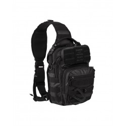 Рюкзак однолямочный Assault Pack 10L Tactical Black | Mil-Tec