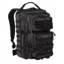 Рюкзак US ASSAULT PACK 40L TACTICAL BLACK | Mil-tec