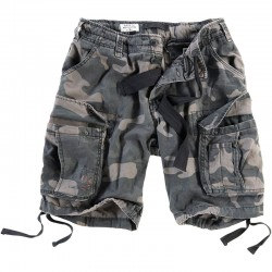 Шорты Airborne Vintage Black Camo | Surplus