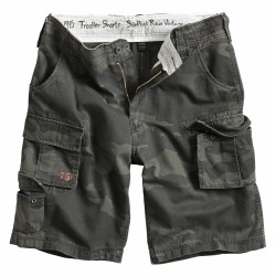 Шорты Trooper Shorts Black Camo | Surplus