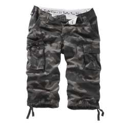 Шорты Tropper Legend 3/4 Black Camo | Surplus