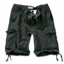 Шорты Vintage Shorts Washed Black | Surplus