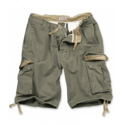 Шорты Vintage Shorts Washed Olive | Surplus