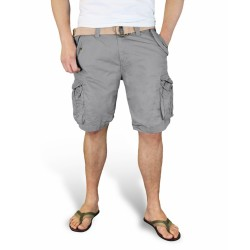 Шорты Xylontum Vintage Shorts Gray | Surplus