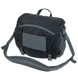 Сумка URBAN COURIER BAG Large Black/Shadow Grey | Helikon-Tex