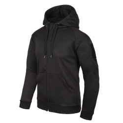 Толстовка Urban Tactical Hoodie FullZip Black | Helikon-Tex