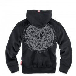Худи Celtic III Black BK139 | Dobermans Aggressive