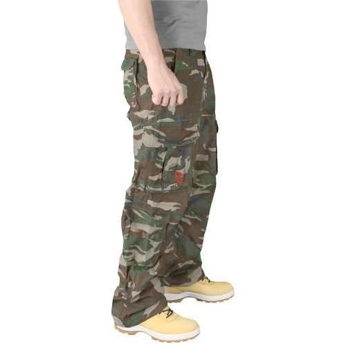 Брюки Airborne Vintage Trousers Woodland | Surplus фото 4