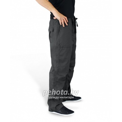 Брюки Athletic trousers Black | Surplus фото 2