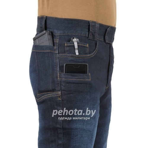 Брюки GREYMAN TACTICAL JEANS Dark Blue | Helikon-Tex фото 10