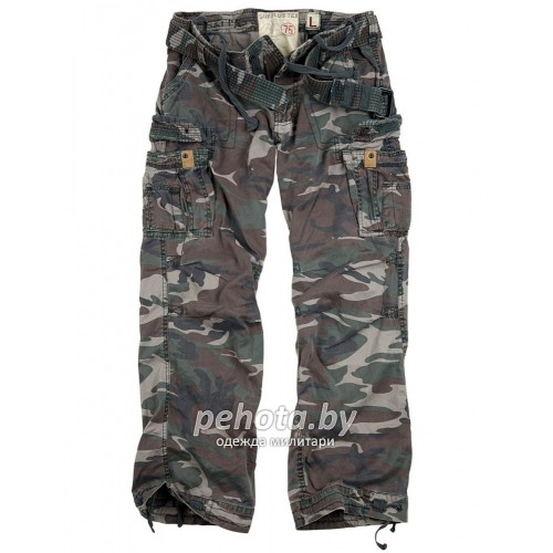 Брюки Premium Vintage Trousers Woodland | Surplus фото 1