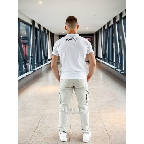 Брюки Royal traveler slimmy Royal White | Surplus фото 5
