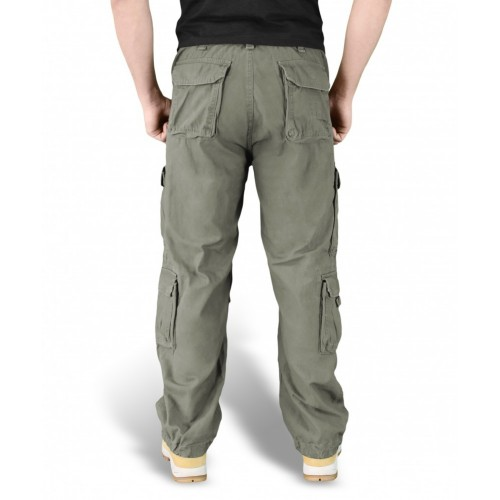 Брюки Airborne Vintage Trousers Olive | Surplus фото 3
