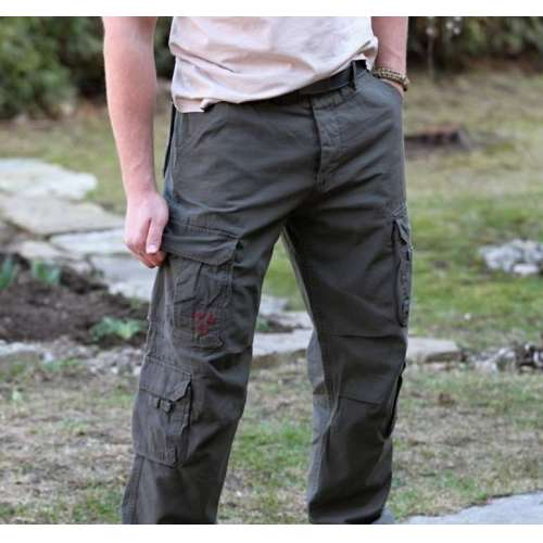 Брюки Airborne Vintage Trousers Olive | Surplus фото 1