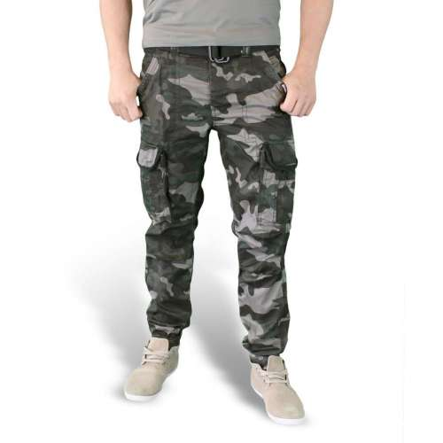 Брюки Premium Slimmy Black Camo | Surplus фото 1
