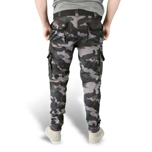 Брюки Premium Slimmy Black Camo | Surplus фото 3
