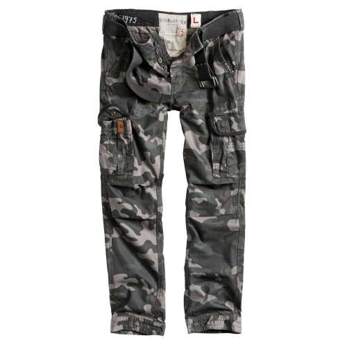 Брюки Premium Slimmy Black Camo | Surplus фото 4