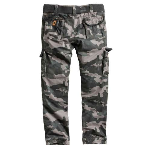 Брюки Premium Slimmy Black Camo | Surplus фото 5
