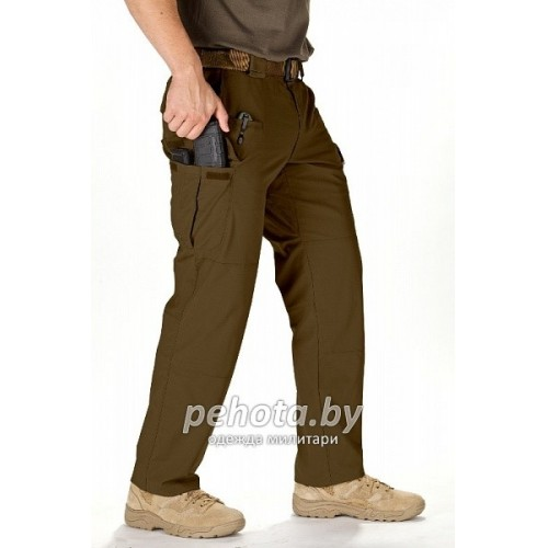 Брюки тактические STRYKE Flex-Tac Battle Brown | 5.11 Tactical фото 2