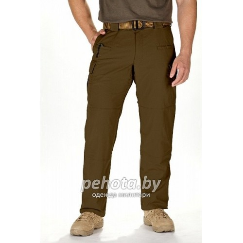 Брюки тактические STRYKE Flex-Tac Battle Brown | 5.11 Tactical фото 3