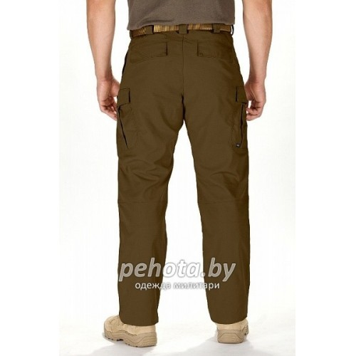 Брюки тактические STRYKE Flex-Tac Battle Brown | 5.11 Tactical фото 4