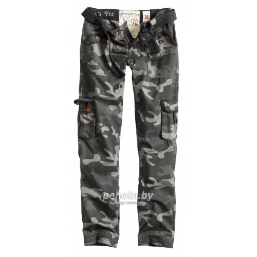 Брюки Женские Ladies Premium Trousers Slimmy Blackcamo | Surplus фото 1