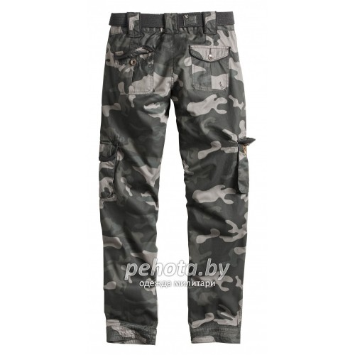 Брюки Женские Ladies Premium Trousers Slimmy Blackcamo | Surplus фото 2