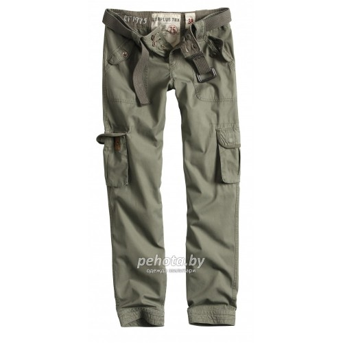 Брюки Женские Ladies Premium Trousers Slimmy Olive | Surplus фото 1