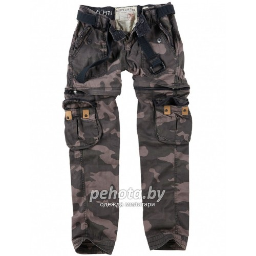 Брюки Женские Ladies Trekking Premium Blackcamo | Surplus фото 1