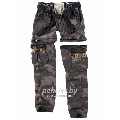 Брюки Женские Ladies Trekking Premium Blackcamo | Surplus фото 2