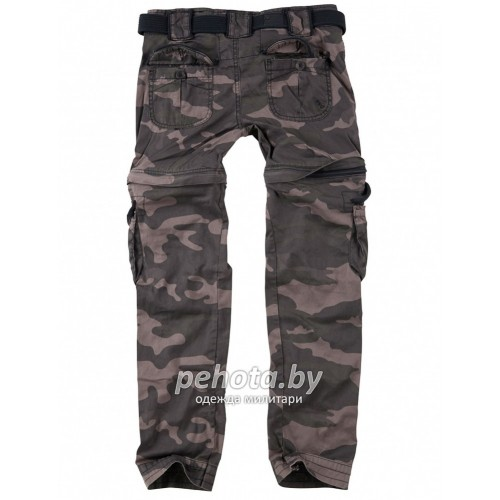 Брюки Женские Ladies Trekking Premium Blackcamo | Surplus фото 3