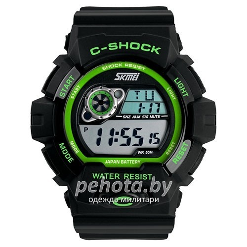 Часы милитари C-Shock Green Black | SKMEI фото 1