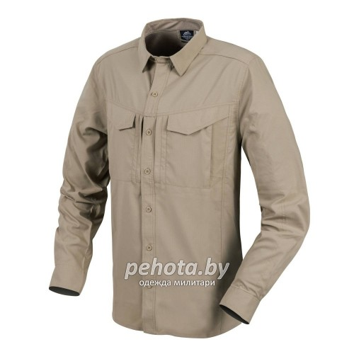 Рубашка Defender Mk2 Tropical Shirt Silver Mink | Helikon-Tex фото 1