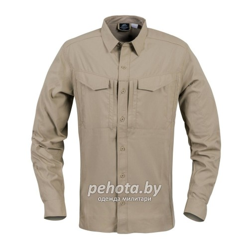 Рубашка Defender Mk2 Tropical Shirt Silver Mink | Helikon-Tex фото 5