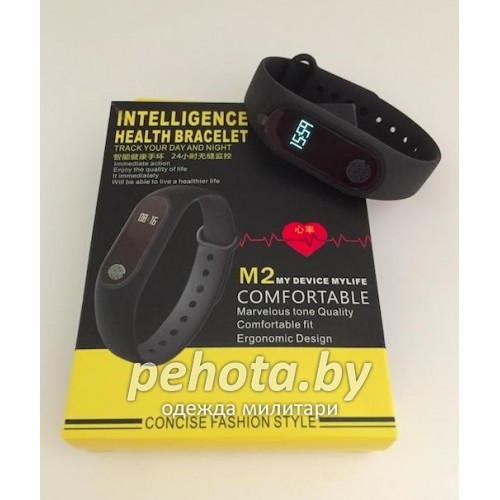 Фитнес-браслет Intelligence health M2 Blue | D&A фото 5