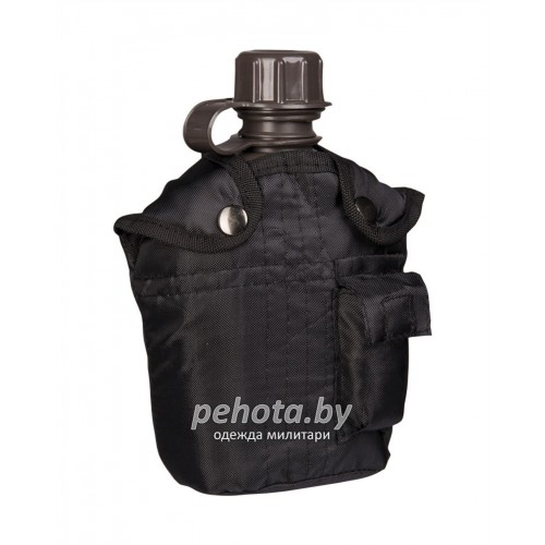 Фляга US Field 1L Black | Mil-tec фото 1