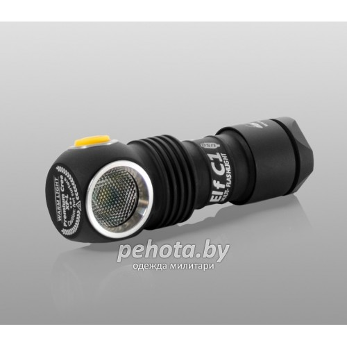 Фонарь ELF C1 Micro-USB XP-L Warm Light + 18350 Li-Ion | Armytek фото 1
