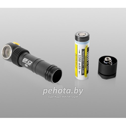 Фонарь Elf C2 XP-L Warm Light Micro-USB +18350 Li-Ion | Armytek фото 5