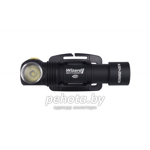 Фонарь налобный Wizard Pro Magnet USB XHP50 +18650 Li-Ion White Light | ArmyTek фото 2