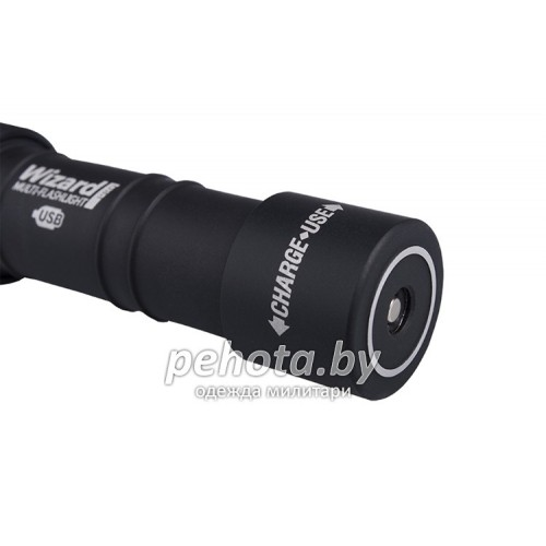 Фонарь налобный Wizard Pro Magnet USB XHP50 +18650 Li-Ion White Light | ArmyTek фото 3
