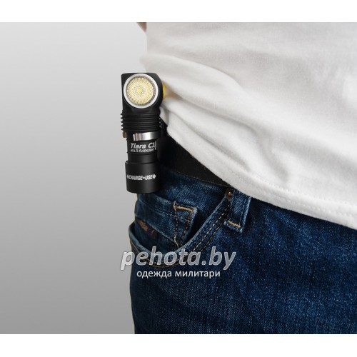 Фонарь Tiara C1 XP-L White Light Magnet USB +18350 Li-Ion | Armytek фото 12