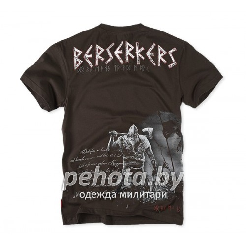 Футболка Berserkers Коричневая TS99 | Dobermans Aggressive фото 1