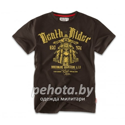 Футболка Death Rider TS57 Brown | Dobermans Aggressive фото 1