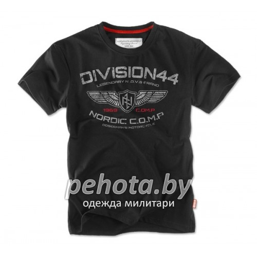 Футболка DIVISION TS122 Black | Dobermans Aggressive фото 1