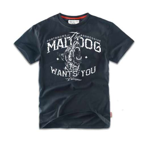 Футболка MAD DOG Navy TS69 | Dobermans Aggressive фото 1
